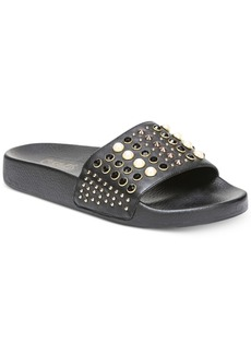 Carlos by Carlos Santana Coco Studded Pool Slide Sandals Women's Shoes