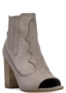 Carlos by Carlos Santana Corby Peep-Toe Booties Women's Shoes