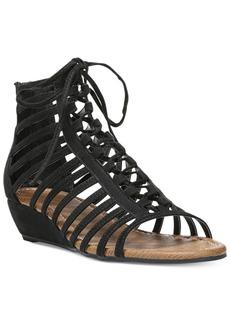 Carlos by Carlos Santana Cornelia Gladiator Lace-Up Wedge Sandals Women's Shoes