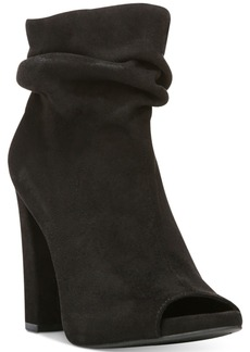 Carlos by Carlos Santana Felicity Slouchy Peep-Toe Booties Women's Shoes