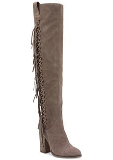 Carlos by Carlos Santana Garrett Knee-High Fringe Boots Women's Shoes