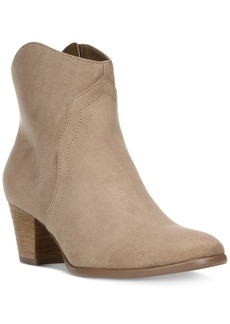 Carlos By Carlos Santana Harper Block-Heel Ankle Booties Women's Shoes