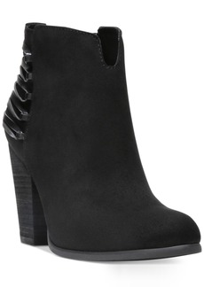 Carlos by Carlos Santana Hawkins Block-Heel Booties Women's Shoes