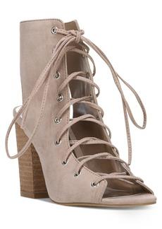 Carlos by Carlos Santana Jolene Lace-Up Block-Heel Sandals Women's Shoes