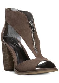 Carlos by Carlos Santana Jury Zip Block-Heel Sandals Women's Shoes