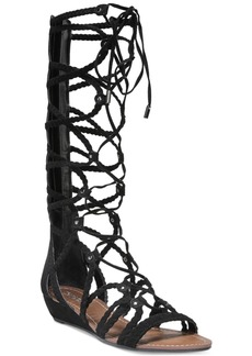 Carlos by Carlos Santana Kalee Lace-Up Wedge Sandals Women's Shoes