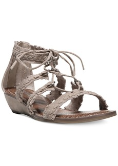 Carlos By Carlos Santana Kenzie Lace-Up Gladiator Sandals Women's Shoes