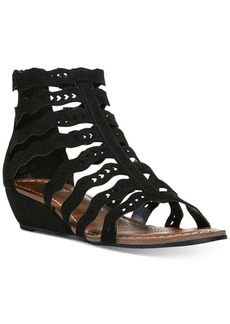 Carlos by Carlos Santana Kitt Cut-Out Wedge Sandals Women's Shoes