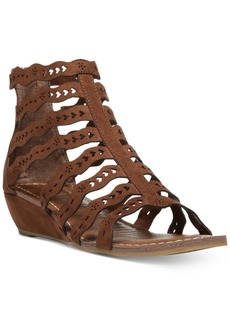 Carlos by Carlos Santana Kitt Cut-Out Wedge Sandals Women's Shoes