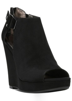 Carlos by Carlos Santana Manchester Cut-Out Peep-Toe Wedges Women's Shoes