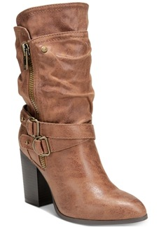 Carlos by Carlos Santana Paisley Mid-Shaft Boots Women's Shoes