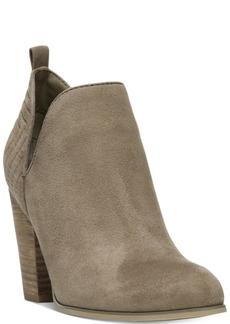 Carlos by Carlos Santana Rouen Cut-Out Block-Heel Booties Women's Shoes