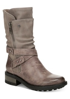 Carlos by Carlos Santana Sawyer Moto Boots Women's Shoes