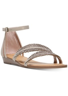 Carlos by Carlos Santana Tempo Embellished Flat Sandals Women's Shoes