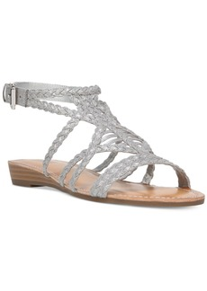 Carlos By Carlos Santana Turner Braided Demi-Wedge Sandals Women's Shoes