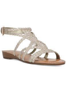 Carlos By Carlos Santana Turner Braided Demi-Wedge Sandals Women's Shoes