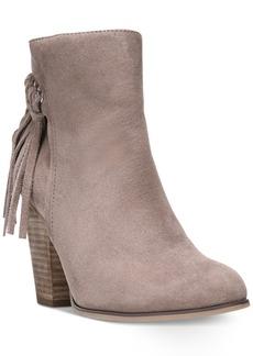 Carlos By Carlos Santana Twilight Fringe Block-Heel Booties Women's Shoes