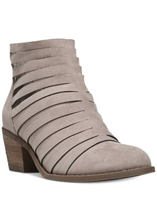 Carlos by Carlos Santana Vanna Block-Heel Booties Women's Shoes