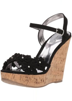 Carlos by Carlos Santana Women's Belinda Wedge Sandal  7.5 Medium US