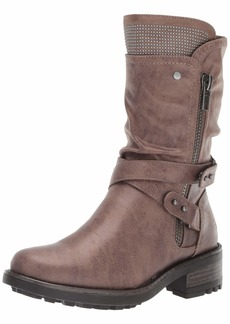 Carlos by Carlos Santana Women's Sawyer 3 Motorcycle Boot   Medium US