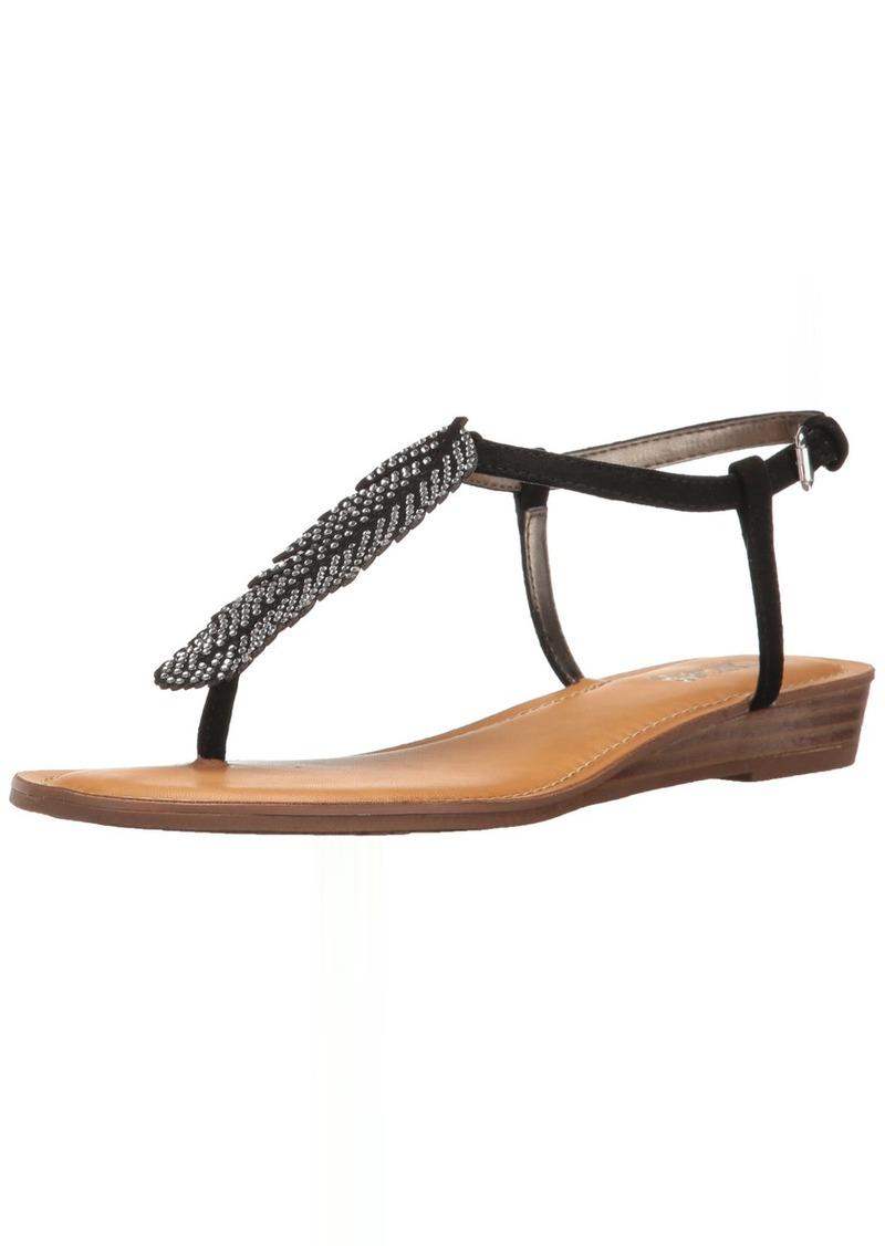 Carlos by Carlos Santana Women's Tenor Flat Sandal  7.5 Medium US