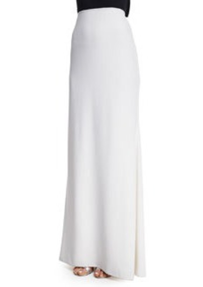 Carmen Marc Valvo Mermaid Crepe Skirt