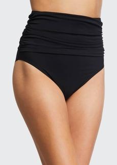 Carmen Marc Valvo High-Waist Bikini Bottom