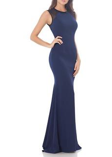 Carmen Marc Valvo Infusion Body-Con Gown
