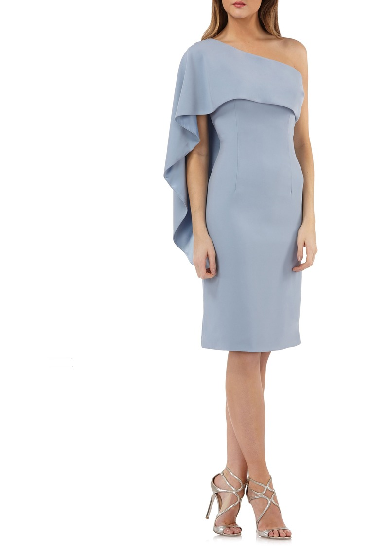 Carmen Marc Valvo Carmen Marc Valvo Infusion One-Shoulder Cape ...