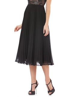 Carmen Marc Valvo Infusion Pleated Skirt