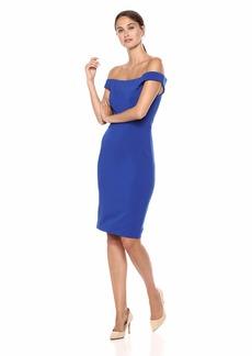 Carmen Marc Valvo Infusion Women's Crepe Dress