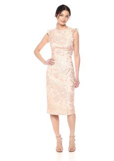 Carmen Marc Valvo Infusion Women's Cut Out Back Dress