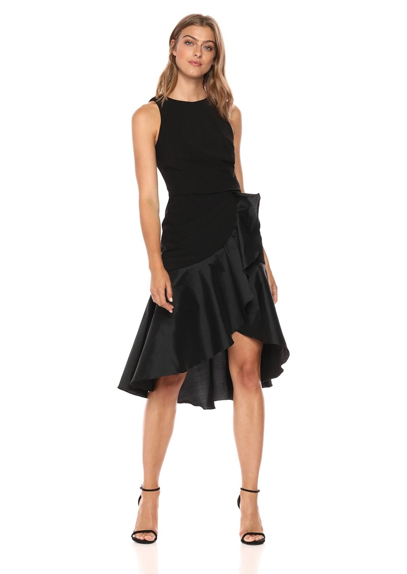 Carmen Marc Valvo Infusion Women's Jewel Neck Cocktail Dress