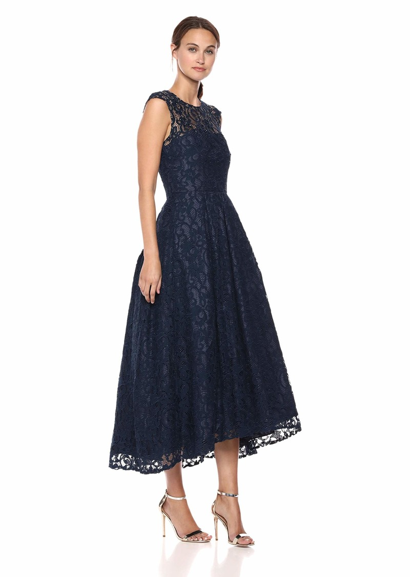 Carmen Marc Valvo Infusion Women's LACE Gown