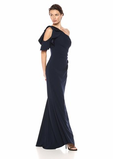 Carmen Marc Valvo Infusion Women's one shlder Gown