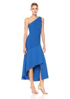 Carmen Marc Valvo Infusion Women's One Shoulder Dress