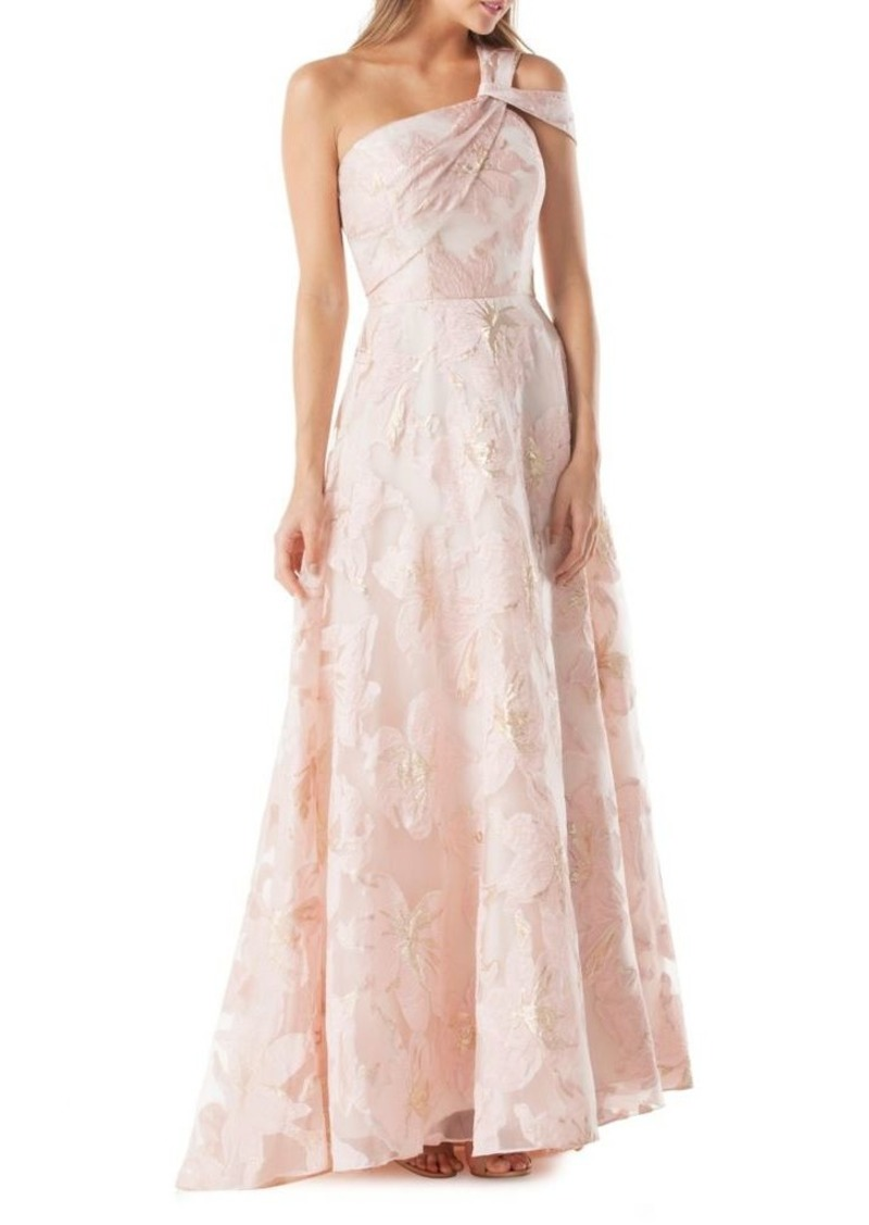 Carmen Marc Valvo Carmen Marc Valvo One-Shoulder Ball Gown | Dresses ...