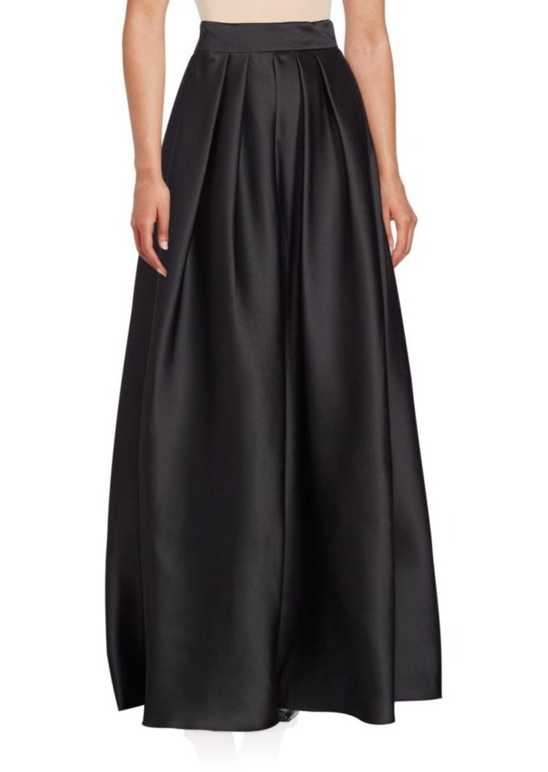 Carmen Marc Valvo Solid Ball Skirt