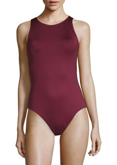 One-Piece Cut-Out Swimsuit