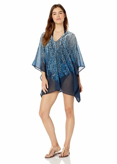 Carmen Marc Valvo Women's Caftan Swimsuit Cover up  M/L