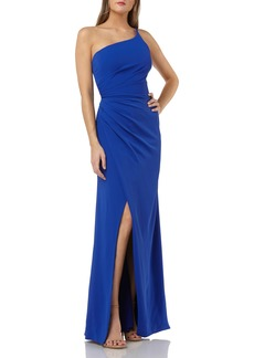 Carmen Marc Valvo Carmen Marco Valvo Infusion One Shoulder Evening Dress