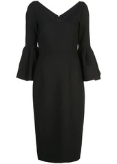 CAROLINA HERRERA F1911N509DFW BLACK Wool or fine animal hair->Virgin Wool