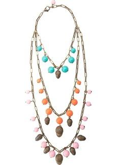 Carolina Herrera acorn motif beaded necklace