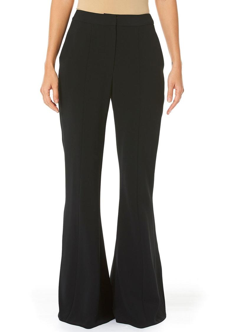 Carolina Herrera Bell-Bottom Suit Pants