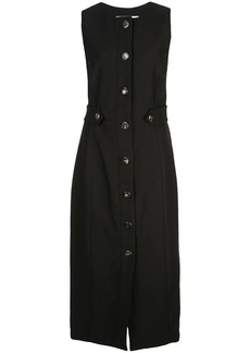 Carolina Herrera buttoned fitted dress