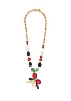 Carolina Herrera Bead and chain necklace