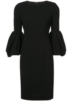 Carolina Herrera bell sleeve dress