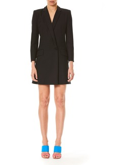 Carolina Herrera Bracelet-Sleeve Blazer Dress