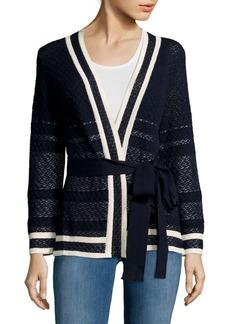 Carolina Herrera Crochet Cardigan