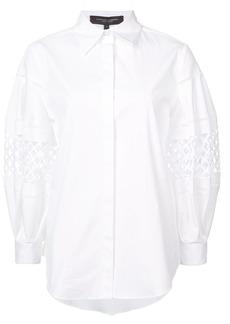 Carolina Herrera cut-out detail shirt